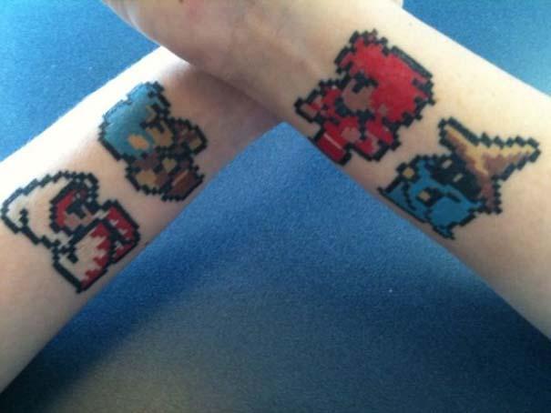 Pixel tattoo (4)