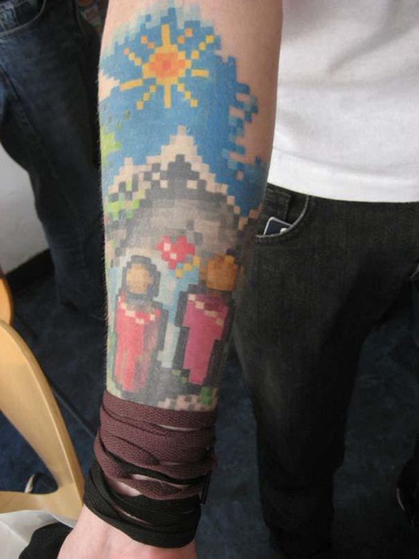 Pixel tattoo (19)