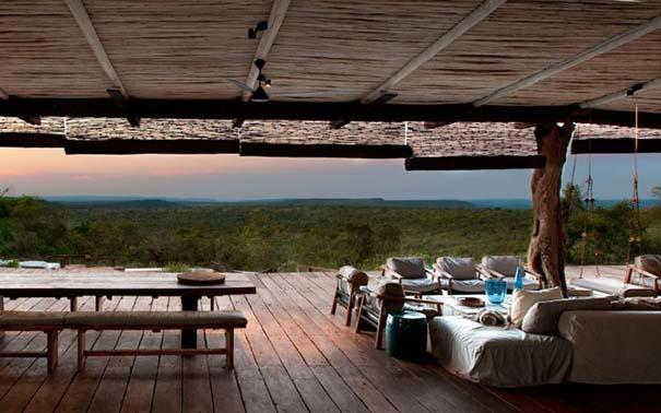Πολυτελής καλύβα στην Αφρικανική άγρια φύση (8)