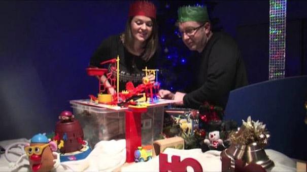 Ο πιο πρωτότυπος και δημιουργικός τρόπος για χριστουγεννιάτικες ευχές