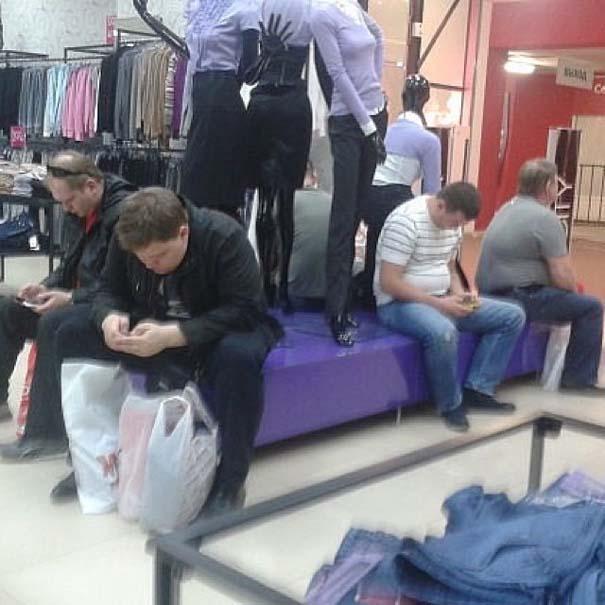 Πως είναι τα ψώνια των γιορτών για τους άνδρες... (3)