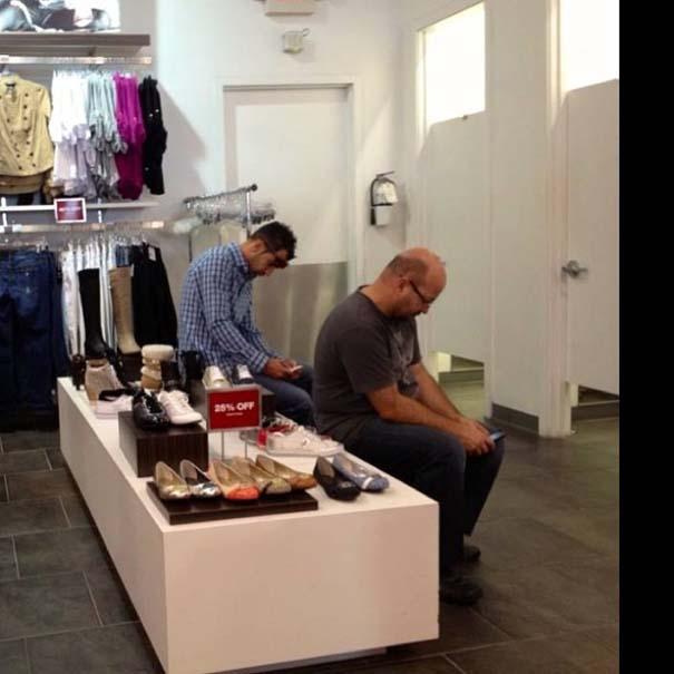 Πως είναι τα ψώνια των γιορτών για τους άνδρες... (4)