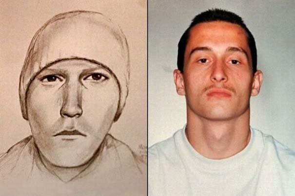 Σκίτσα υπόπτων vs φωτογραφίες συλληφθέντων (2)