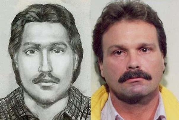 Σκίτσα υπόπτων vs φωτογραφίες συλληφθέντων (1)
