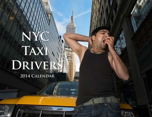 Ταξιτζήδες της Νέας Υόρκης ποζάρουν ως μοντέλα για καλό σκοπό (1)