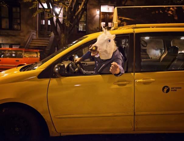 Ταξιτζήδες της Νέας Υόρκης ποζάρουν ως μοντέλα για καλό σκοπό (3)