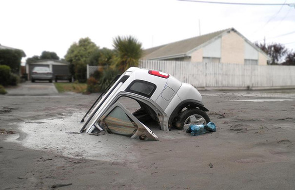 Τι συνέβη σε αυτό το αυτοκίνητο;
