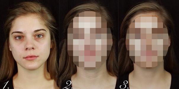 Βήμα βήμα μια υπέροχη μεταμόρφωση με μακιγιάζ (1)