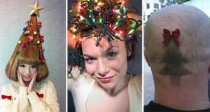Χριστουγεννιάτικα χτενίσματα για «ανεπανάληπτες» εμφανίσεις