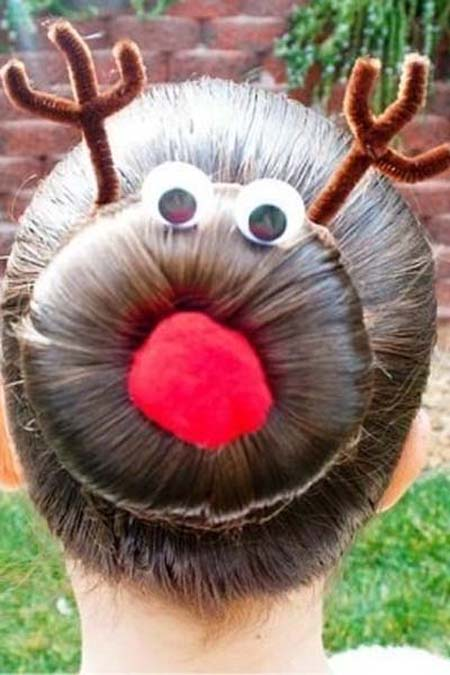 Χριστουγεννιάτικα χτενίσματα για «ξεχωριστές» εμφανίσεις (2)