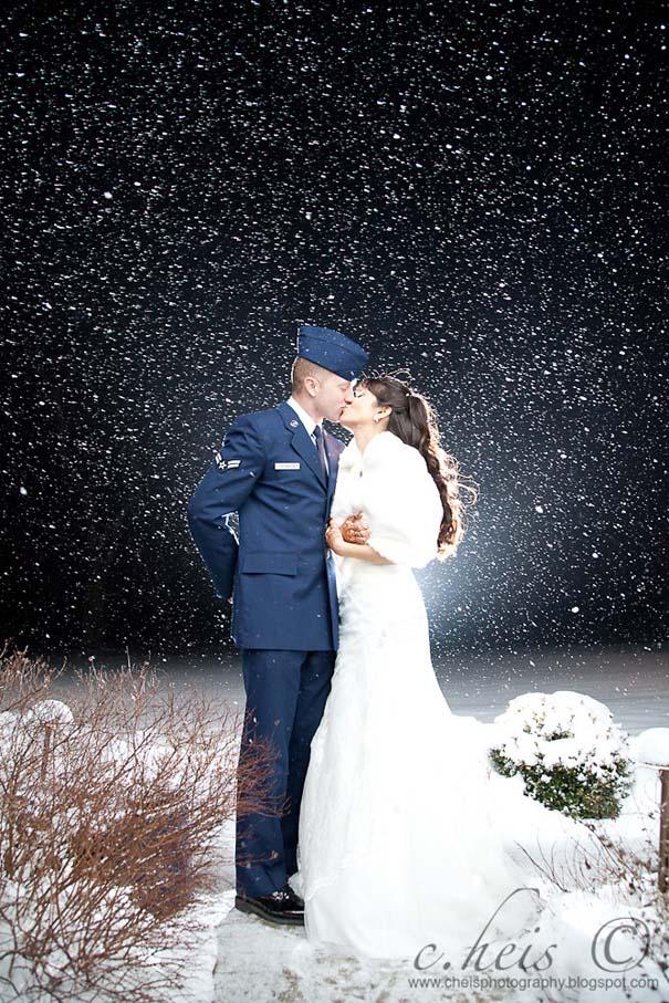 Ζευγάρια που μετέτρεψαν τον άσχημο καιρό σε υπέροχες γαμήλιες φωτογραφίες (4)