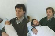 Δυο αδέρφια σε ξεκαρδιστική αναπαράσταση παιδικών φωτογραφιών (2)