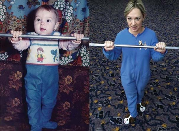 3 αδέρφια ξαναζούν την παιδική τους ηλικία μέσω αναπαράστασης των φωτογραφιών τους (2)
