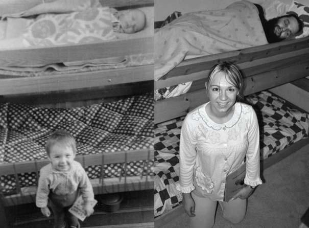 3 αδέρφια ξαναζούν την παιδική τους ηλικία μέσω αναπαράστασης των φωτογραφιών τους (3)