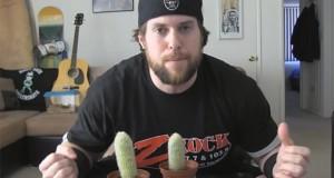 Ο άνδρας που θεώρησε καλή ιδέα το να φάει δυο κάκτους (Video)