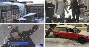 Άνθρωποι εναντίον… Χειμώνα! (Video)