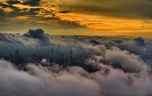 Χειριστής γερανού βγάζει απίστευτες φωτογραφίες από το 2ο ψηλότερο κτήριο του κόσμου (2)