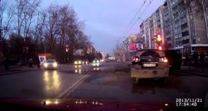 Απίστευτο περιστατικό σε δρόμο της Ρωσίας (Video)