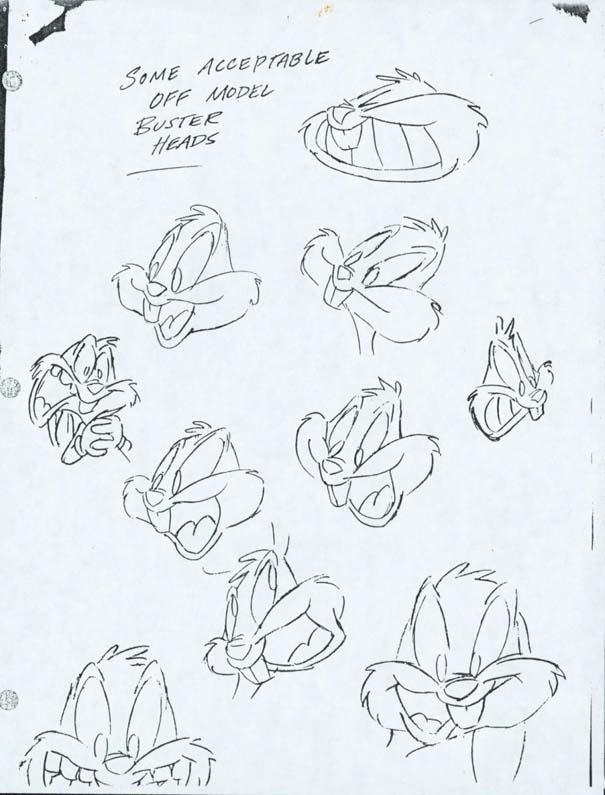 Αρχικά σχέδια διάσημων Cartoon (2)