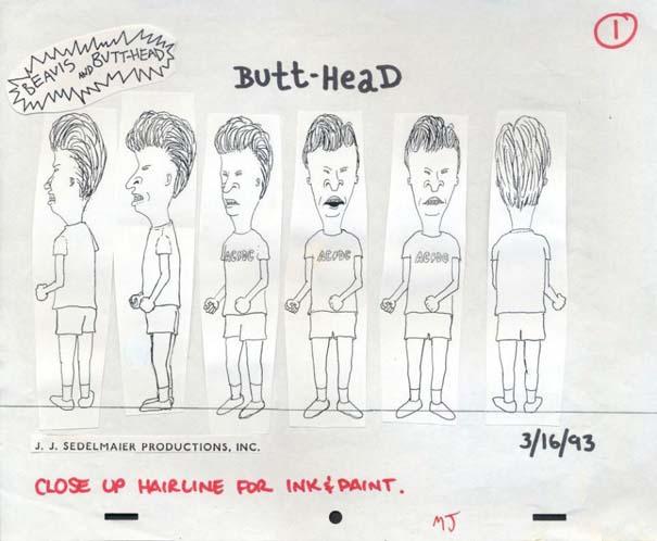 Αρχικά σχέδια διάσημων Cartoon (3)