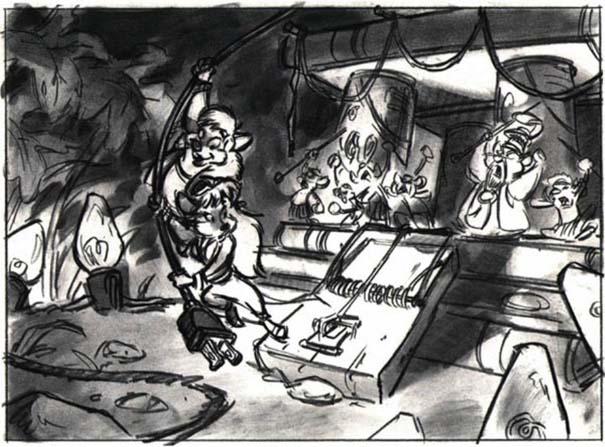 Αρχικά σχέδια διάσημων Cartoon (4)