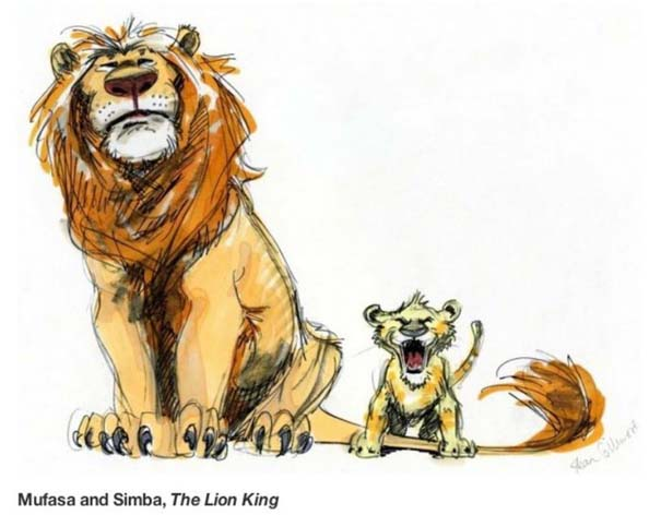 Αρχικά σχέδια διάσημων Cartoon (8)