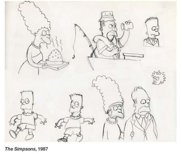 Αρχικά σχέδια διάσημων Cartoon (16)