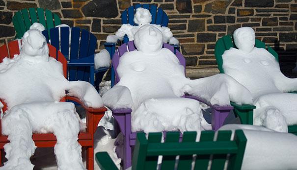 Αστείοι και δημιουργικοί χιονάνθρωποι (6)