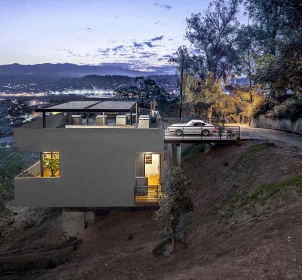 Ασυνήθιστο σπίτι σε πλαγιά (1)