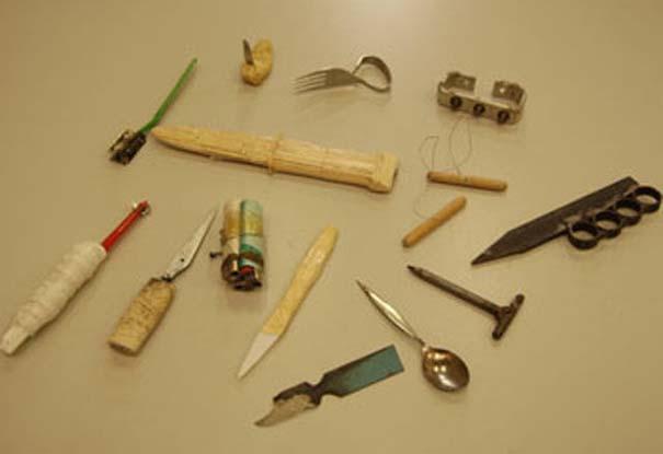 Αυτοσχέδια αντικείμενα από φυλακισμένους (3)