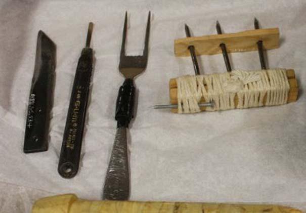 Αυτοσχέδια αντικείμενα από φυλακισμένους (6)