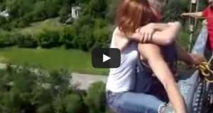 Bungee Jumping χωρίς σχοινί (Video)