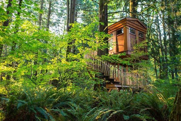 Εντυπωσιακά δενδρόσπιτα για μικρές αποδράσεις κοντά στο Seattle (6)