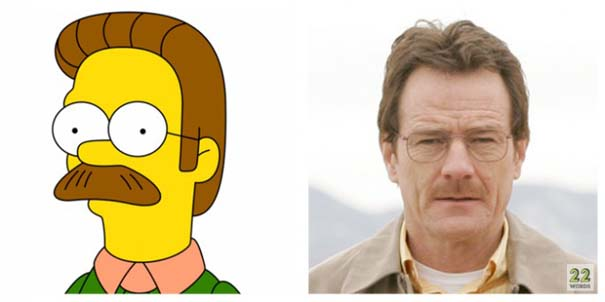 Διάσημοι που μοιάζουν με cartoon (2)