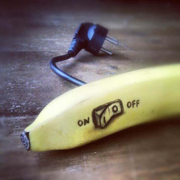 Δημιουργικός μπαμπάς σχεδιάζει πάνω σε μπανάνες (12)
