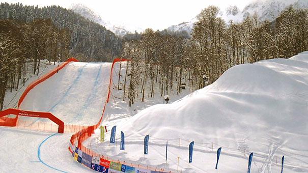 Δημιουργώντας χιόνι για τους Χειμερινούς Ολυμπιακούς Αγώνες