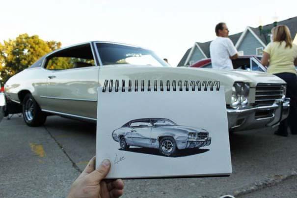 Εκπληκτικά σκίτσα αυτοκινήτων (4)