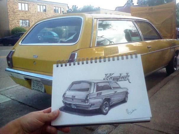 Εκπληκτικά σκίτσα αυτοκινήτων (18)