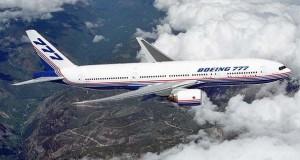 Εκπληκτικής λεπτομέρειας χάρτινη ρεπλίκα ενός Boeing 777 σε κλίμακα 1:60