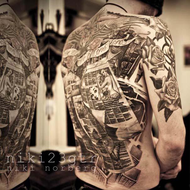 Εντυπωσιακά ρεαλιστικά τατουάζ από τον Niki Norberg (6)