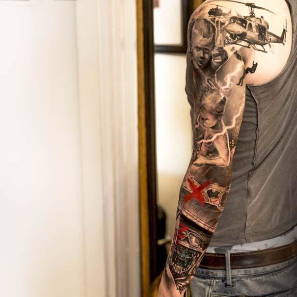 Εντυπωσιακά ρεαλιστικά τατουάζ από τον Niki Norberg (14)
