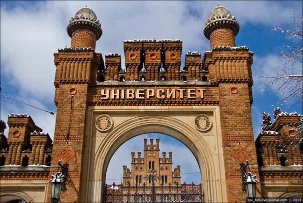 Το εντυπωσιακό πανεπιστήμιο του Chernivtsi στην Ουκρανία (1)