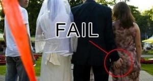 Απίθανη συλλογή με γαμήλια fails (Video)
