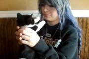 Γάτες που σιχαίνονται τα φιλιά