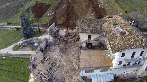 Γιγάντιος βράχος έσπειρε την καταστροφή στο διάβα του (16)