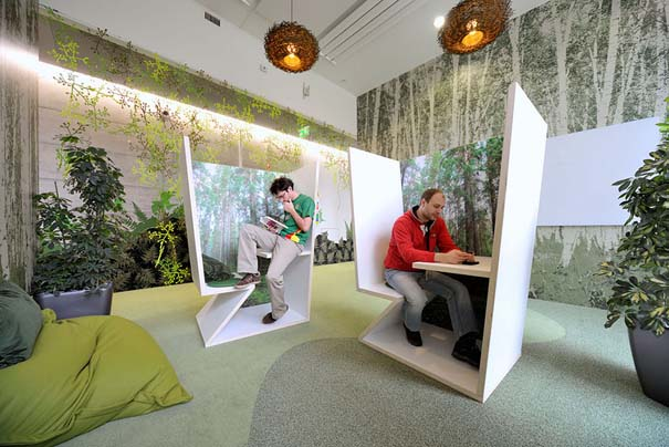 Γραφεία εταιρειών που μοιάζουν βγαλμένα από όνειρο (11)