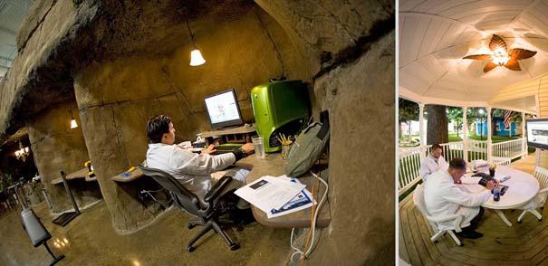 Γραφεία εταιρειών που μοιάζουν βγαλμένα από όνειρο (17)