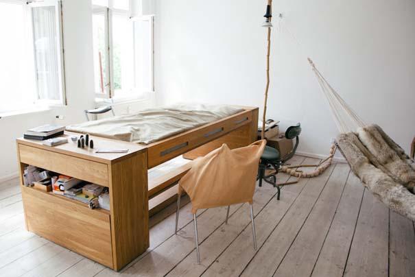 Γραφείο που μετατρέπεται σε κρεβάτι (1)