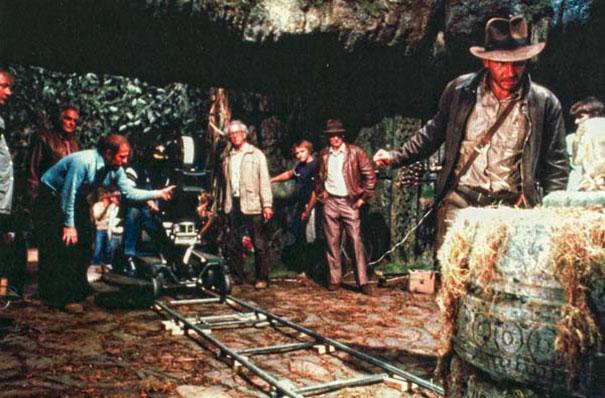 Γυρίσματα της ταινίας «Ο Ιντιάνα Τζόουνς και Οι Κυνηγοί της Χαμένης Κιβωτού»