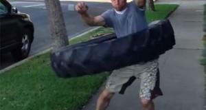 Hula hoop με ελαστικό 45 κιλών (Video)